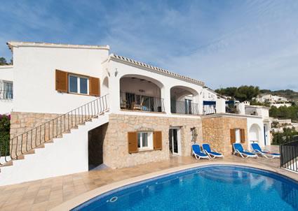 Javea Spain Villa Holidays