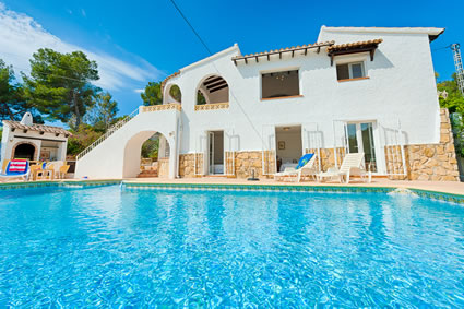 Holiday Villa Rental In Moraira Spain