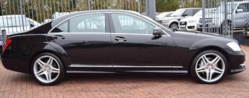 S Class mercedes chauffuer london & Essex