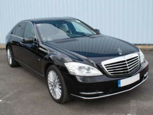 southend Travel in a mercedes-S class