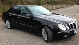 Southend airport Travel E Class Mercedes