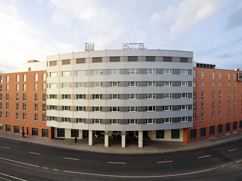 The NH Nuernberg City hotel in Nuremberg