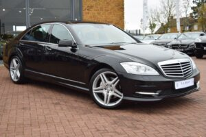 Southampton Port Taxi Services in a S class mercedes