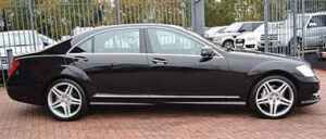 S Class mercedes chauffuers in essex