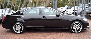 Southend Special Occasion S Class Mercedes Cars