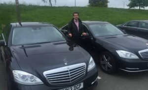 Southend airport travel, S class mercedes for hire with driver